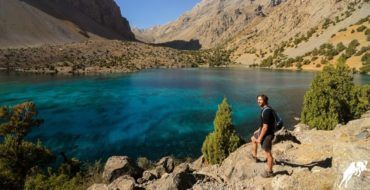 Alaudin Lake, Fan Mountains, Tajikistan