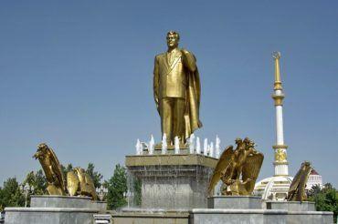Ashgabat independence park - Turkmenistan
