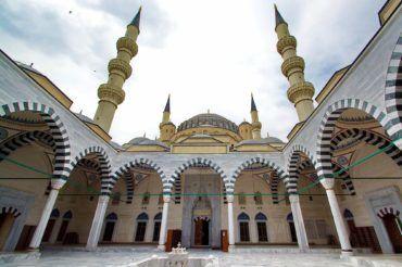Ashgabat ertogrul gazy mosque - Turkmenistan