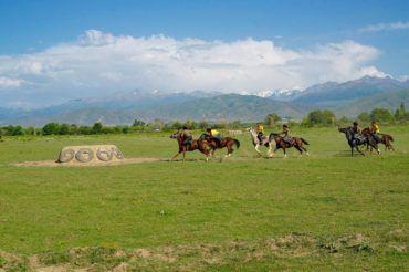 kok boru, Kyrgyzstan travel
