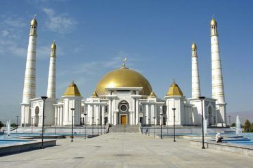Ashgabat turkmenbashi ruhy mosque - Turkmenistan