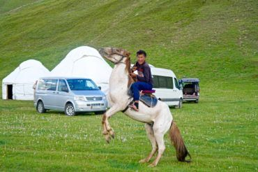 Kyrgyzstan travel, local people