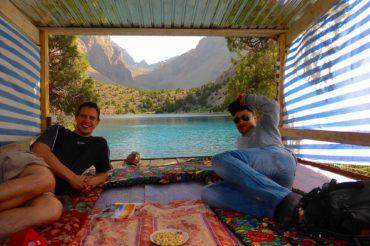 Dinner With View -Tajikistan hiking tour