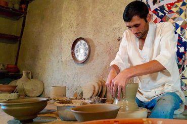 Gijduvan pottery silk road heritage