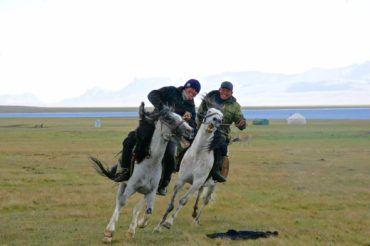 Kyrgyzstan tour, horse games