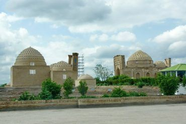Kunya urgench sultan ali mausoleum - Turkmenistan