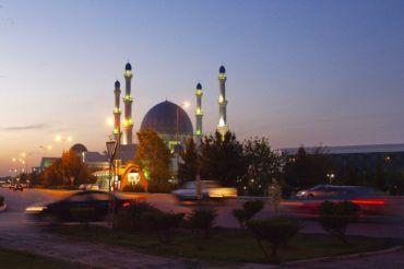 Mary Gurbanguly Hajji Mosque Merv - Turkmenistan