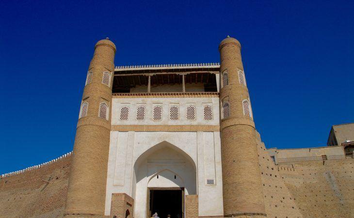 Konya arc in Bukhara