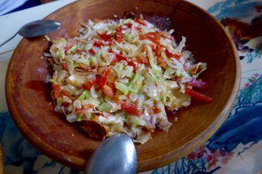 Kurutob national dish, food of Tajikstan cuisine