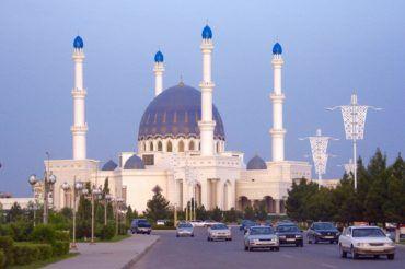 Mary Gurbanguly Hajji Mosque - Turkmenistan