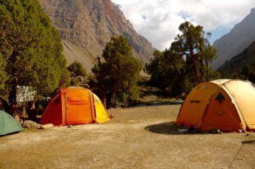 Camping Tajikistan Fann mountains tour