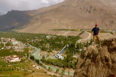 Khorog botanical garden view - Tajikistan
