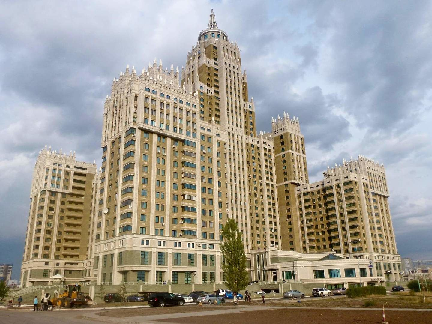 Astana architecture, The triumph of Astana