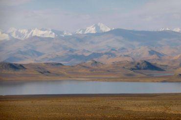 Karakul lake, Tajikistan has one of the highest regata competitions in the world