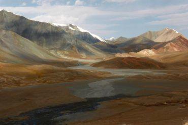Murghab mountains wilderness in pamir highway- Tajikistan