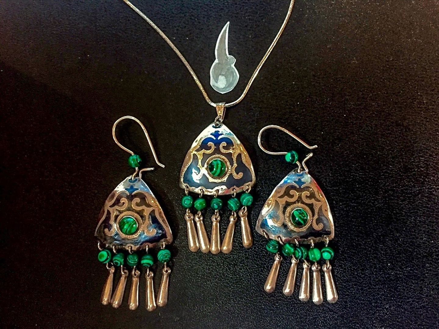 Central Asia Ornaments, earrings