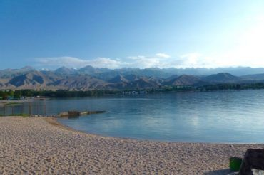 Issyk kul lake Kyrgyzstan travel