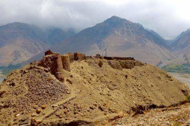Ancient fortress Yagnob in Tajikistan history