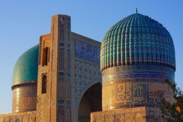 Samarkand bibi khanum mosque - travel to Uzbekistan