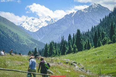 Kyrgyzstan, hiking, Altyn-Arashan gorge