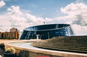 Astana library, Kazakhstan, architecture