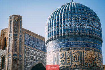 Bibi Khanum Mosque, Samarkand, Uzbekistan