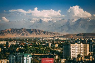 Bishkek city tour, view