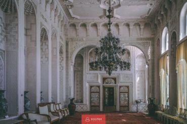 Bukhara palace, last emir, architecture, Uzbekistan