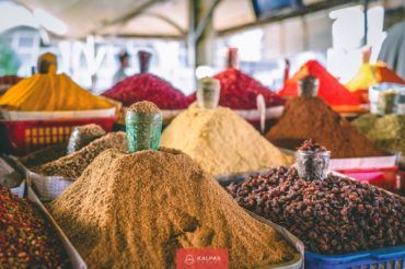Central Asia spices, Silk Road