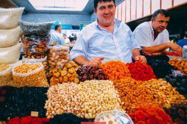 Almaty, Green Bazaar