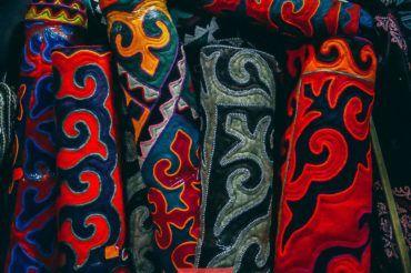 Kyrgyz felt carpet