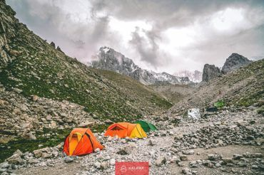 camping Kyrgyzstan