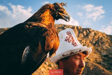 Kyrgyzstan eagle hunter