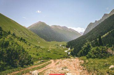 Kyrgyzstan pasture