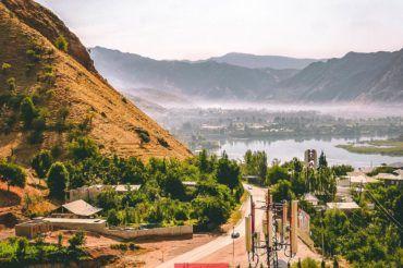 Nurek Water dam, Tajikistan