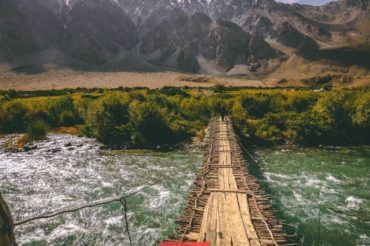 Pamir bridge, Tajikistan