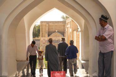 Uzbekistan people, Shahi Zinda, Samarkand