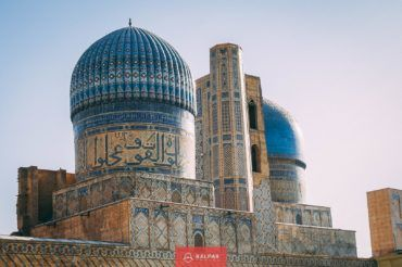 Samarkand blue domes