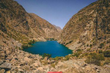 Seven lakes, Tajikistan