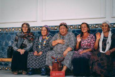 Uzbek women, Central Asia