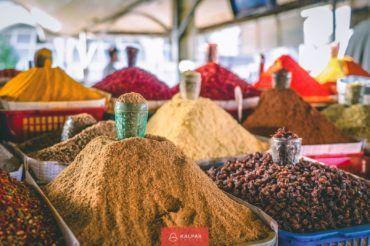 Uzbekistan, spices