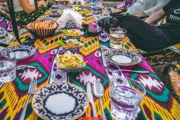 Uzbekistan cuisine, food