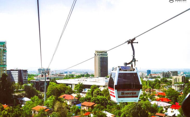 Funicular in Almaty