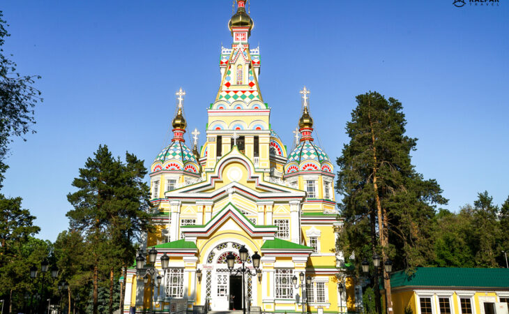 Almaty wooden church