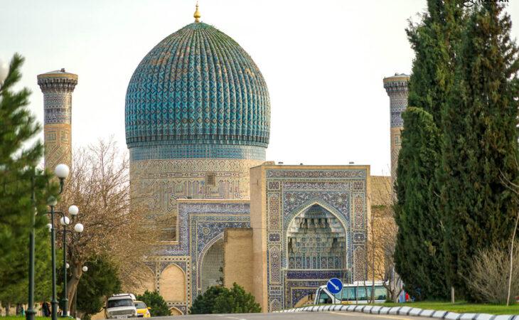 Tamerlane's mausoleum Gur Emir
