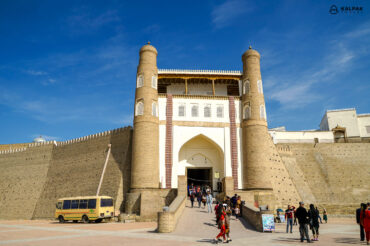 Arc citadel of the great game in Bukhara