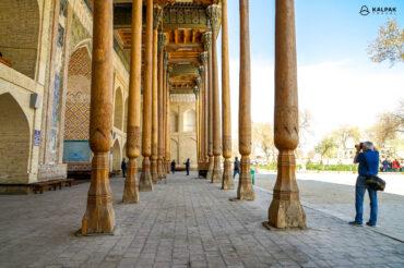 Bolo Khauz in Bukhara