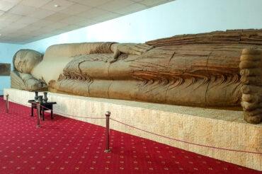 buddha statue in Tajikistan museum