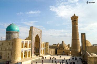 Best view of Kalon minaret