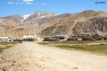 Bulunkul village in Tajikistan
